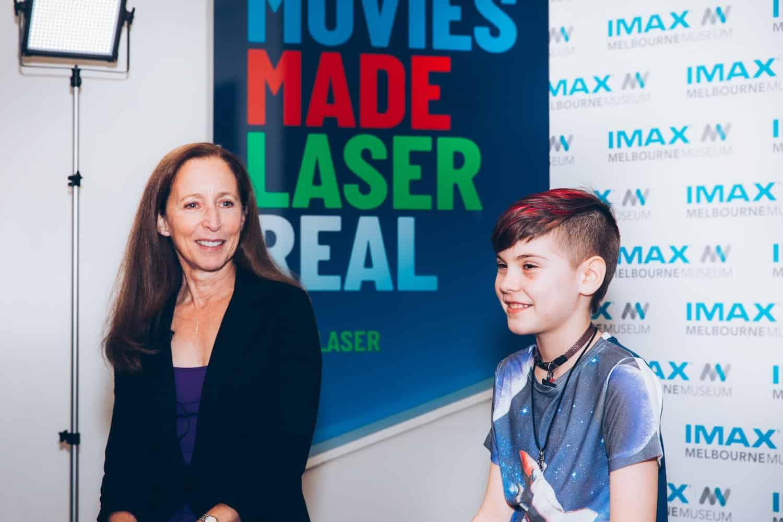 Australian homeschooler interviews former NASA astronaut Marsha Ivins