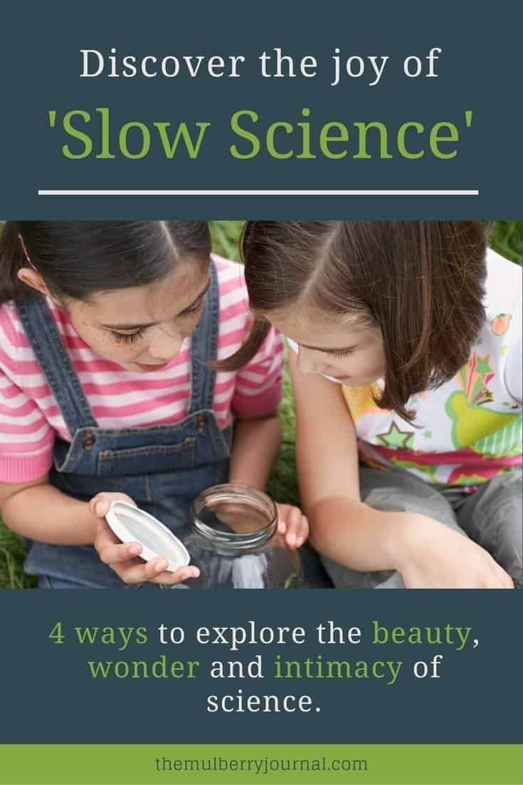4 ways to discover the beauty, wonder and intimacy of 'slow' science