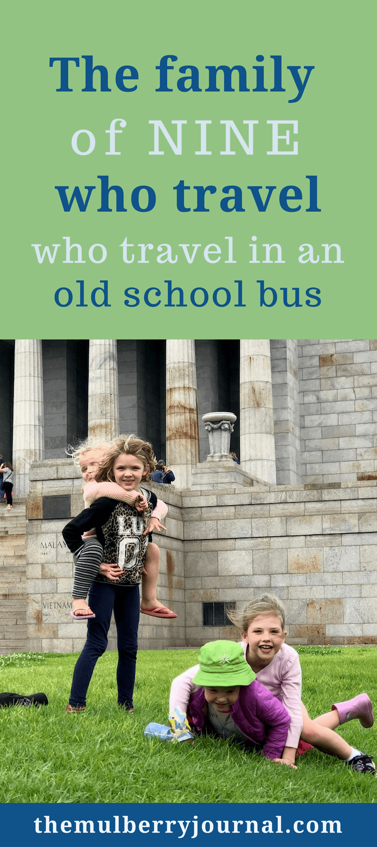 This Family Of Nine Travels Australia And Homeschools In